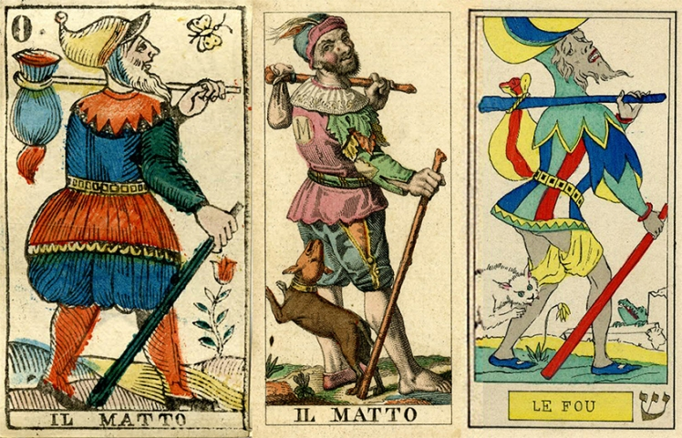The Fool 18th Century